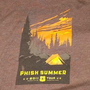 Tops - Phish 2011 Summer Tour Tee